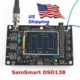 "SainSmart DSO138 2.4"" TFT Digital Oscilloscope Kit DIY parts 1Msps +Probe"