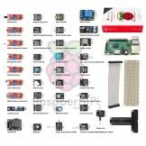 SainSmart Starter Kit Raspberry Pi 2 Model B +40-Pin GPIO Breadboard +37 Sensors