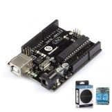 SainSmart UNO R3 ATmega328P Development Board + 2 Channels Relay + Free USB Cable Compatible with Arduino
