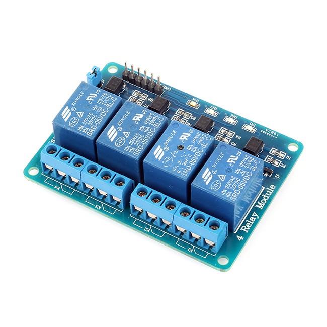 SainSmart 4-Channel 5V Relay Module For PIC ARM AVR DSP