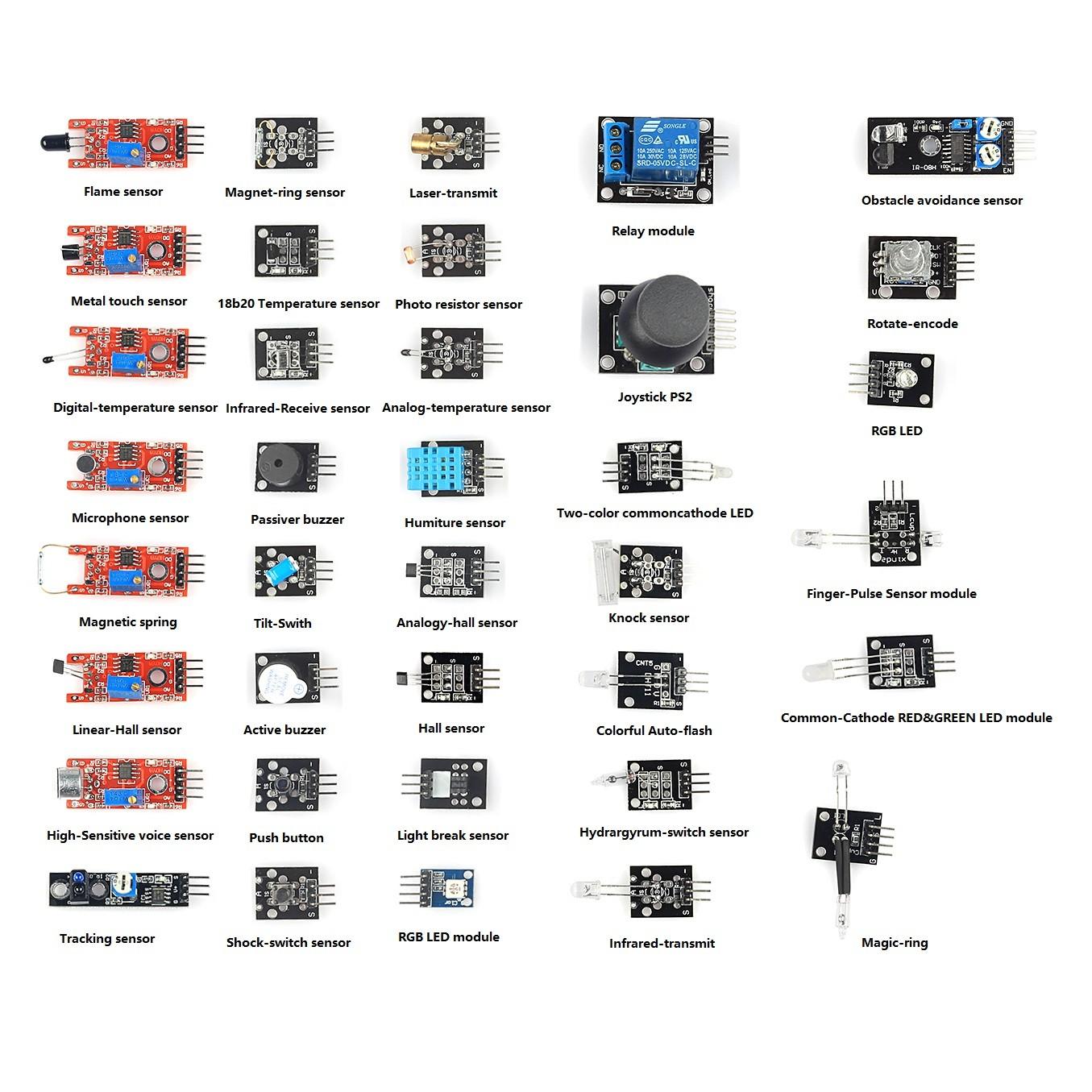 Arduino Sensors List Wiki: Arduino bluetooth android pir