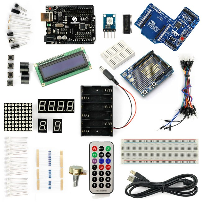 Sainsmart uno r xbee shield starter kit with basic