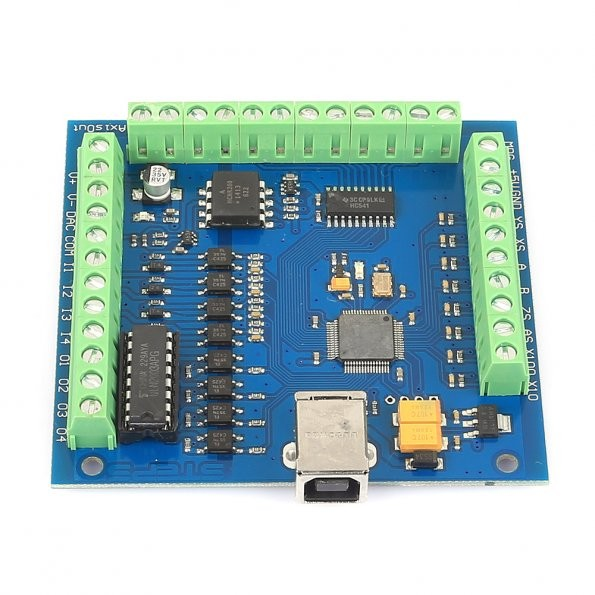 Sainsmart 4 Axis Mach3 Usb Cnc Motion Controller Card