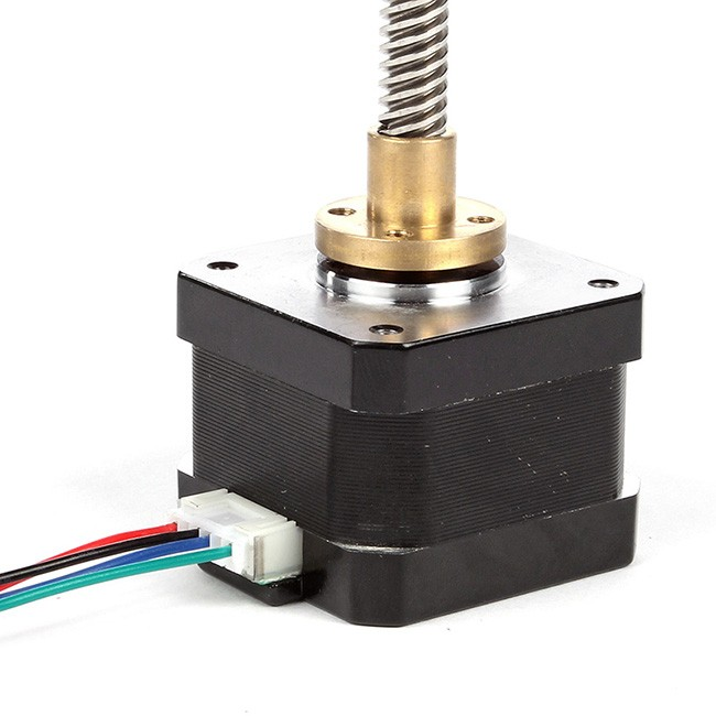 sainsmart nema 17 lead screw 300mm stepper motor z axis 3d