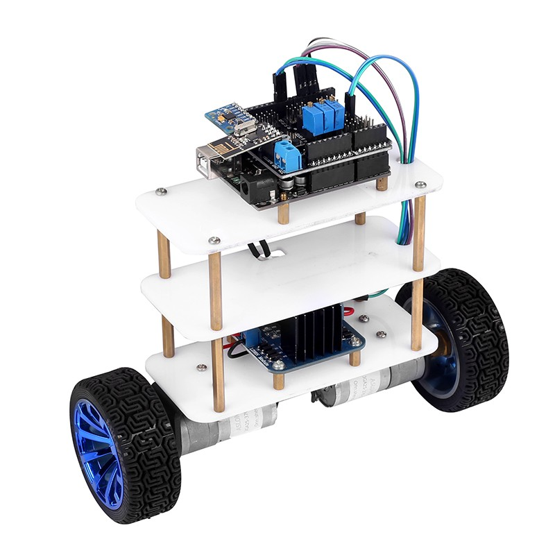 Sainsmart wheel arduino self balancing robot kit v d