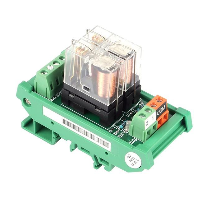 Sainsmart Din Rail Mount Spdt Power Relay Interface Module