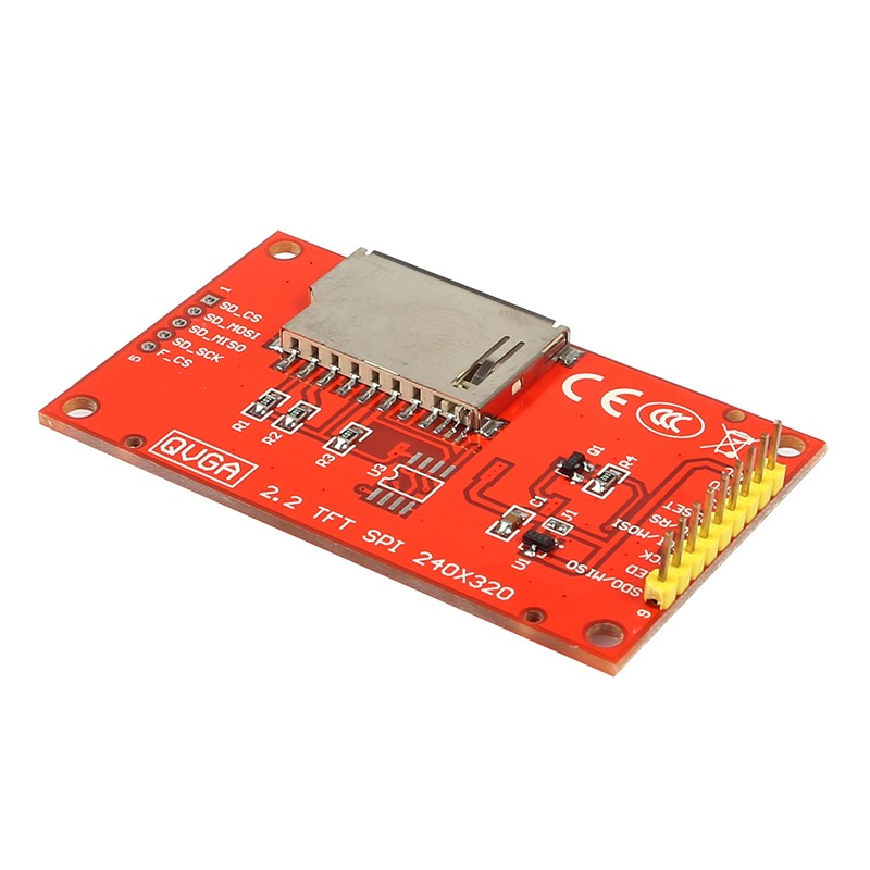 Inch serial port tft spi lcd screen module support the