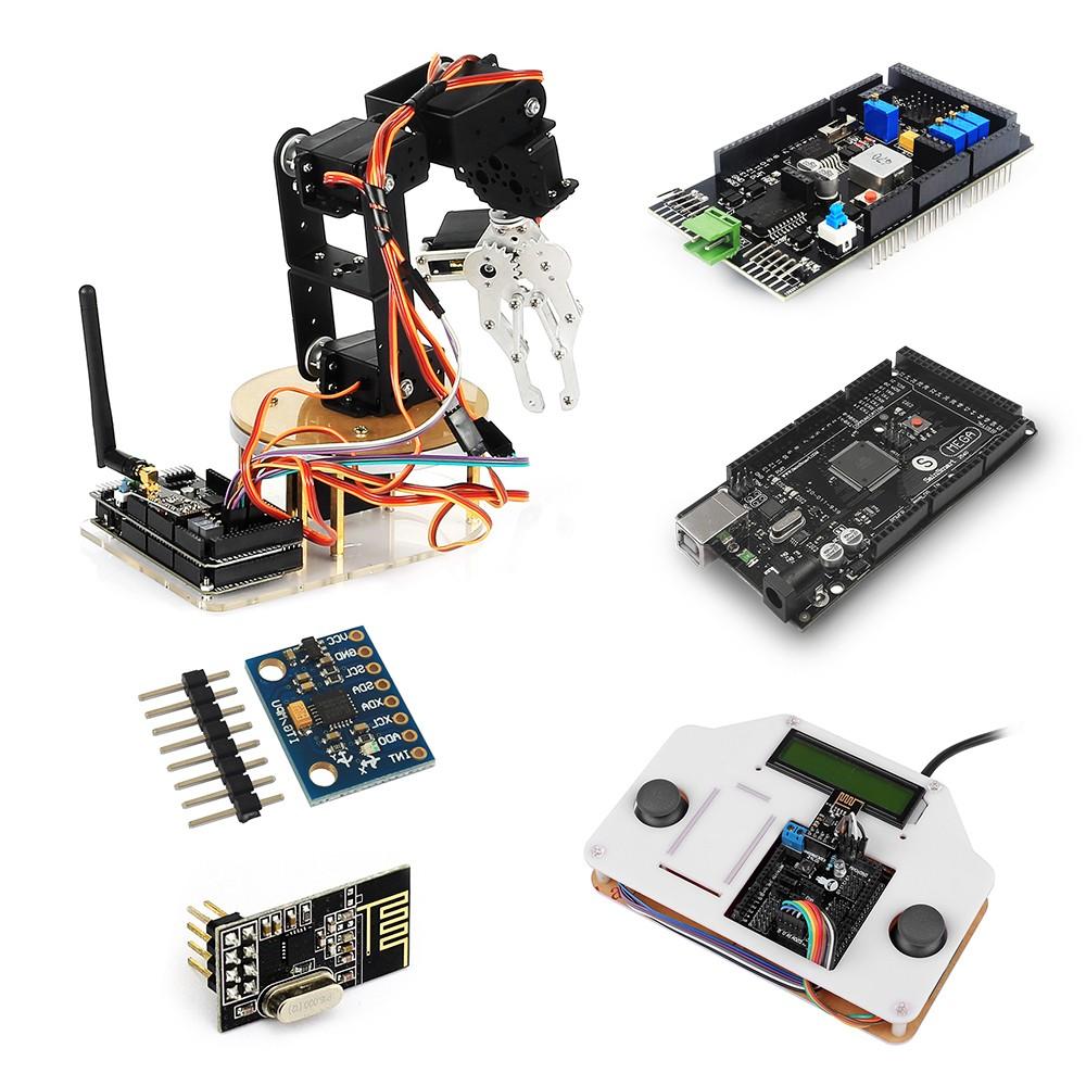 Sainsmart diy axis servo control robot arm ultimate kit