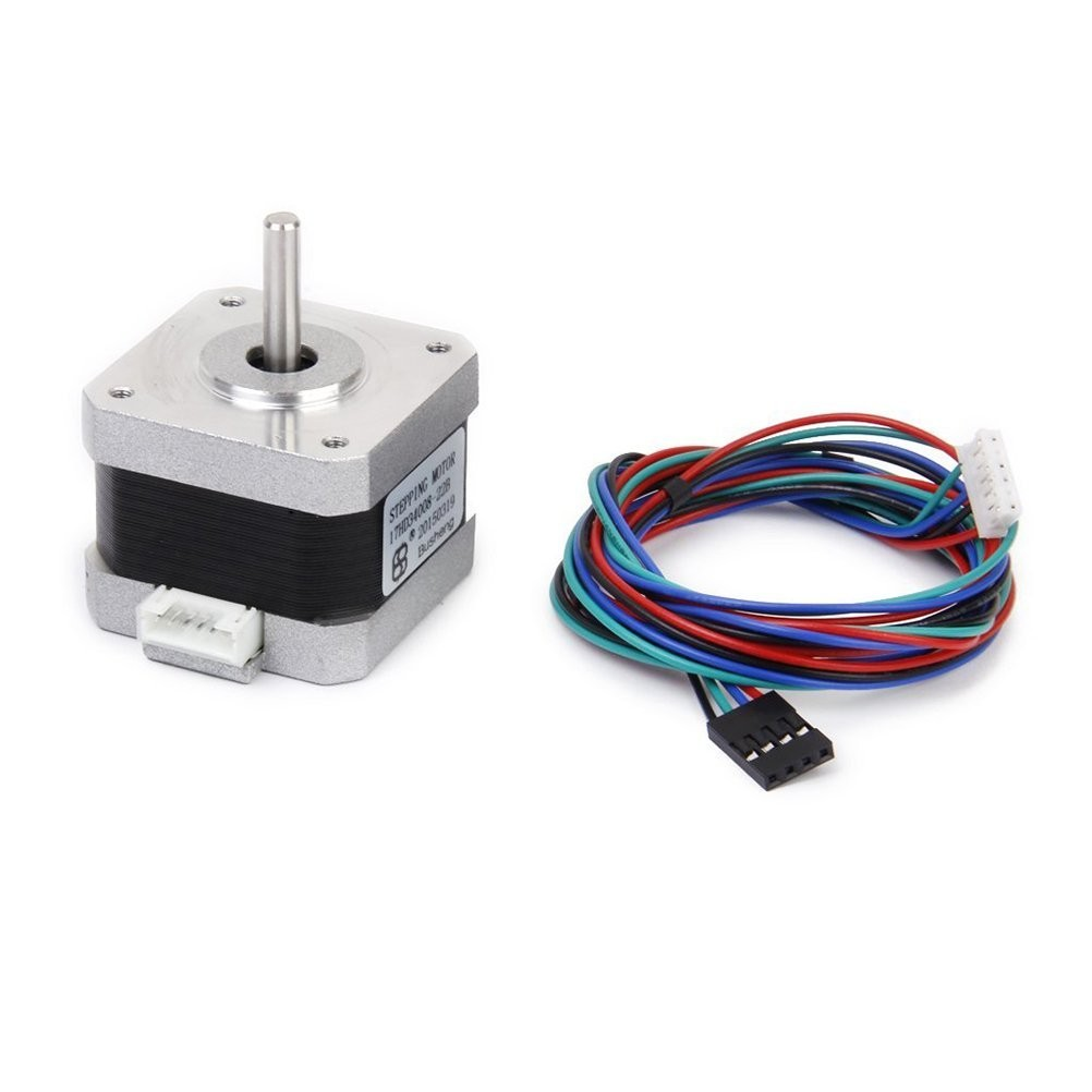 Nema 17 Stepper Motor 2 Phase 4 Wire 1 2a 34mm 1 8 With