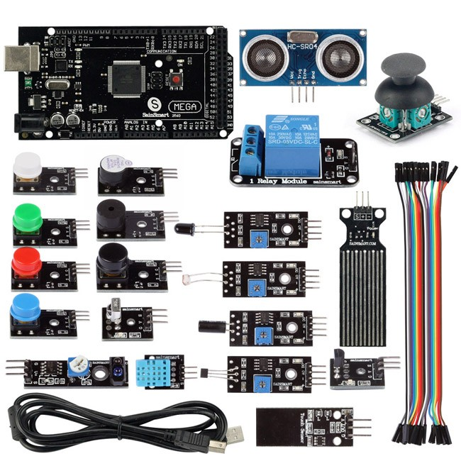 Arduino Mega 2560 R3 - DEV-11061 - SparkFun Electronics