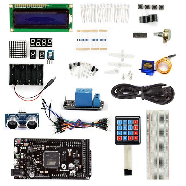 Sainsmart due hc sr lcd keypad servo motor starter