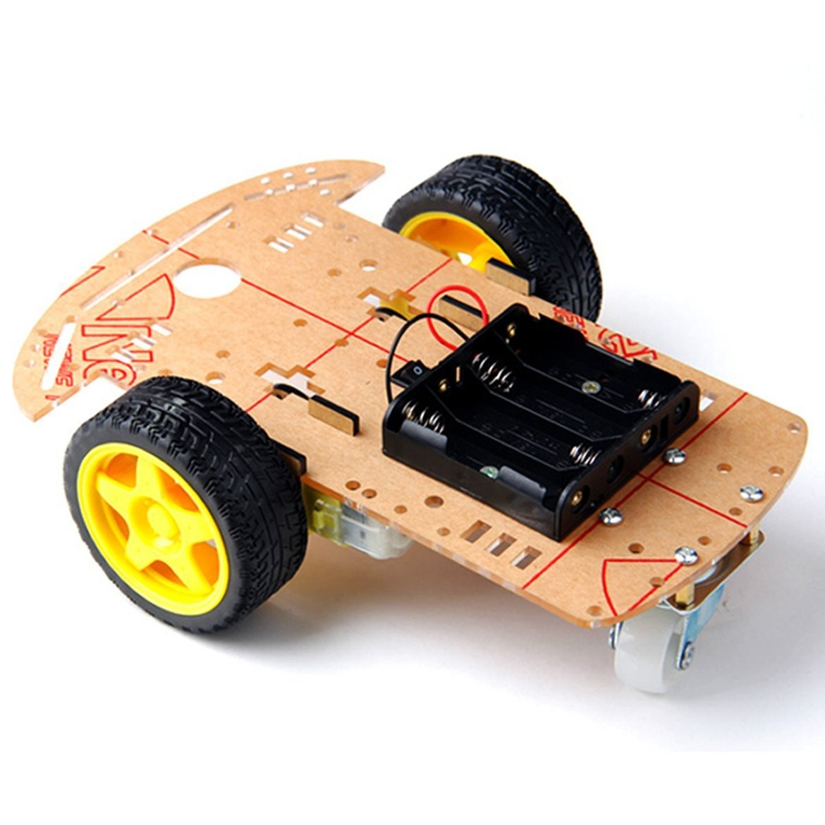 Sainsmart wd smart car chassis kit d printing arduino