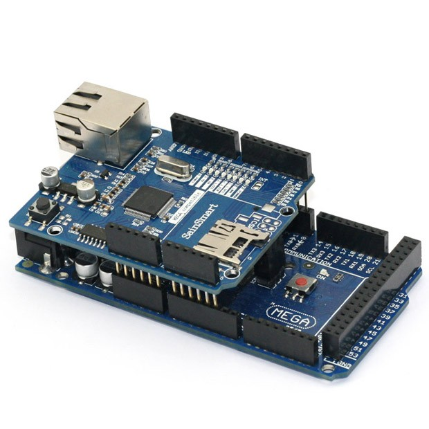 Arduino ETHERNET shield 2 WITH PoE | RDD Technologies
