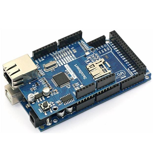 Sainsmart mega ethernet shield kit for arduino