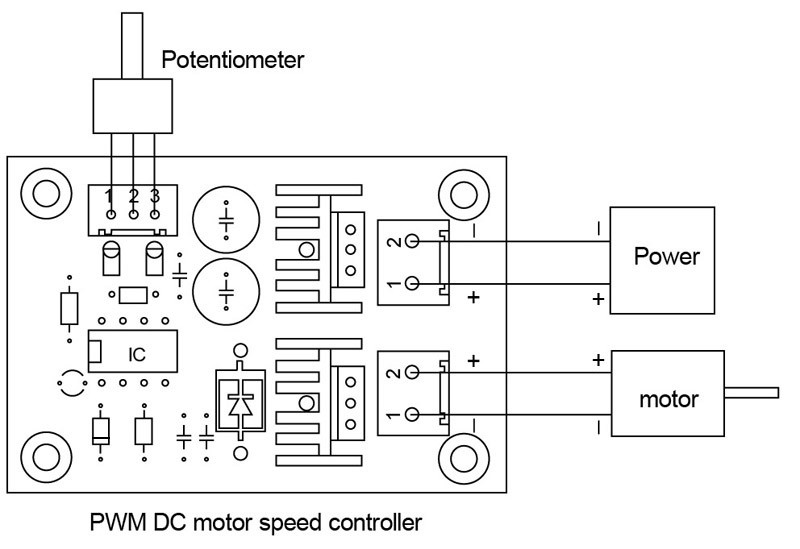 Pwm Motor Driver Bedradingsschema