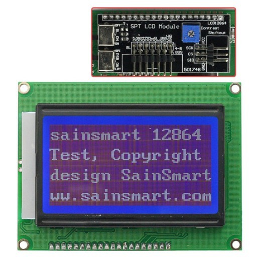 How to use this 128X64 graphic LCD by Arduino UNO?